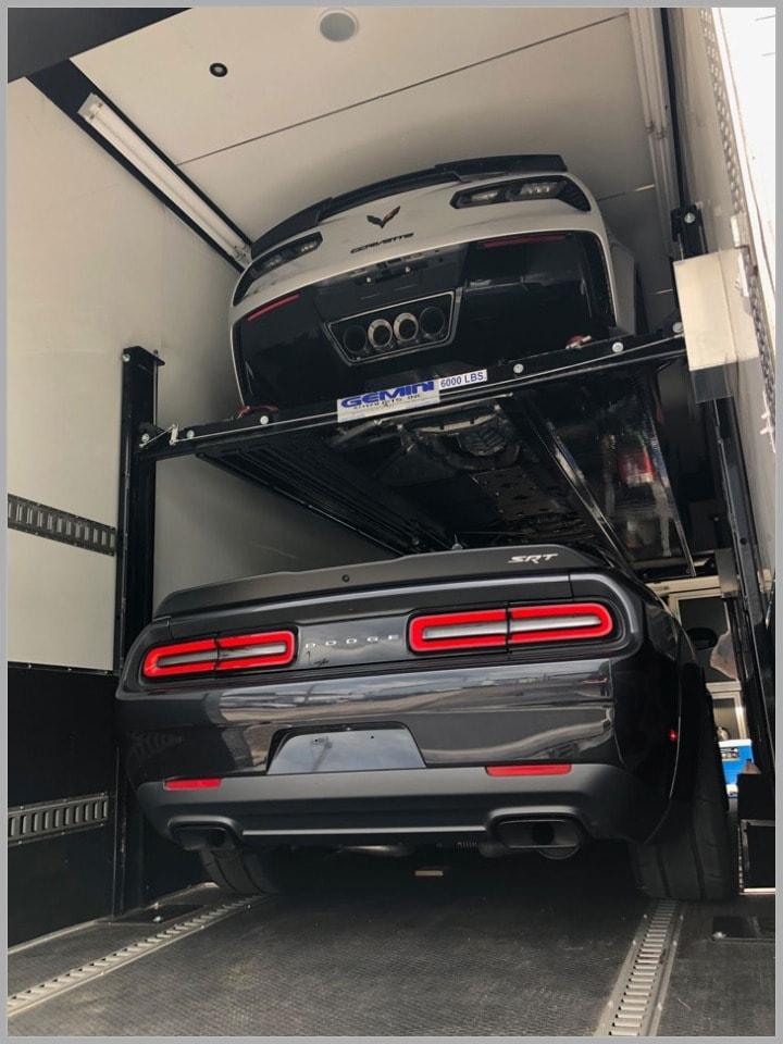 commercial car trailer