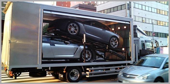 enclosed car hauler for some cars