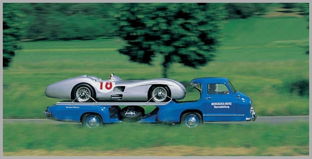 The fastest car trailer
