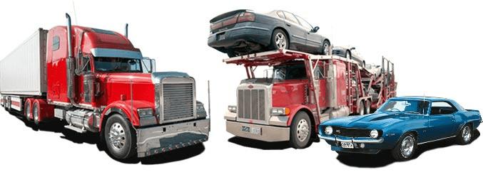 Car Shipping Vehicles Trucks Open