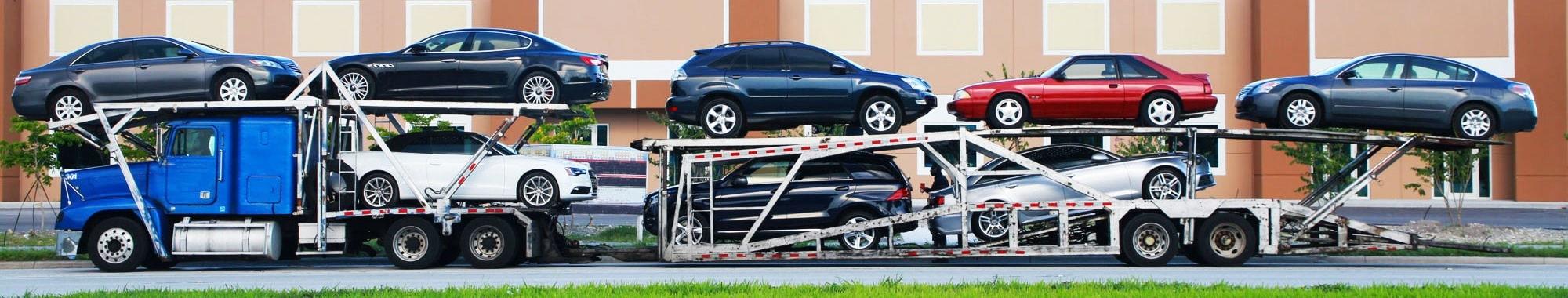 Open Car Hauler For 8 vehicles