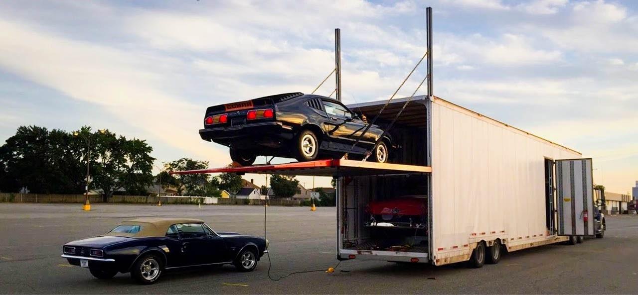 Enclosed Car Shipment