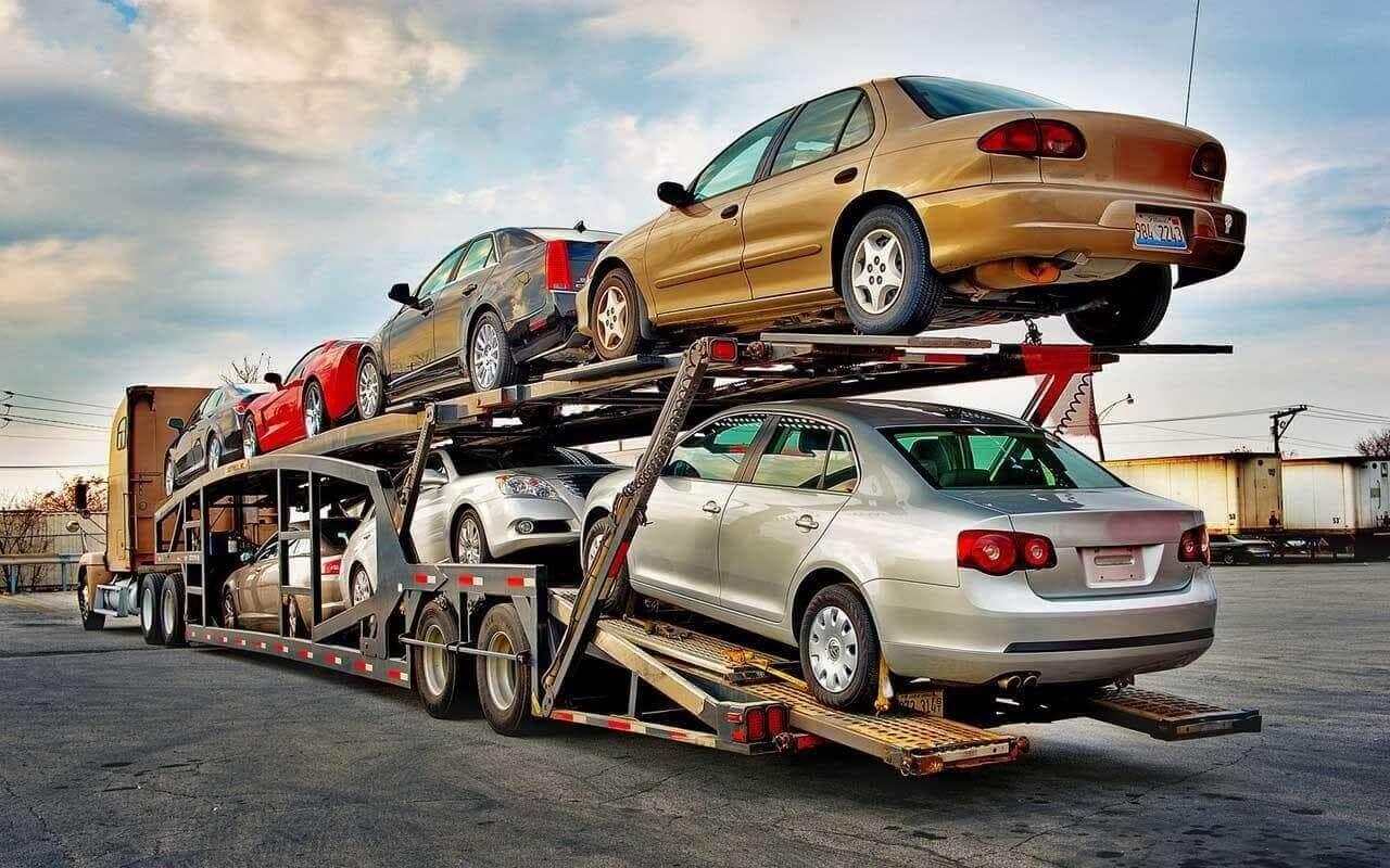 Open Car Hauler For 9 Cars Sedans Car Shipping